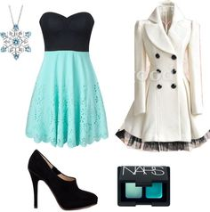 """""""Winter Formal Set"""" by breaking-mercedes on Polyvore"""