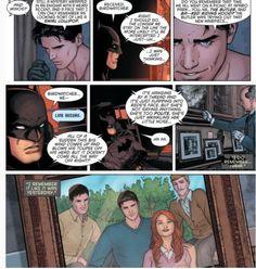 Grayson #2 a memory of Bat Family picnic (Bruce Wayne,Dick Grayson,Barbara Gordon,Alfred Pennyworth)