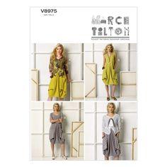 Mccall Pattern V8975 L-Xl-Xxl -Vogue PatternMccall Pattern V8975 L-Xl-Xxl -Vogue Pattern,