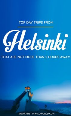Find out about the best day trips from Helsinki! Read this post now to learn more about the top things to do in Helsinki, places to visit in Helsinki, what to do in Helsinki, where to go in Helsinki, and so on! Read this post now or pin it for later read. Travel Tips For Europe, Europe Destinations, Honeymoon Destinations, Cool Places To Visit, Places To Go, Finland Travel, Seen, France Travel, Places