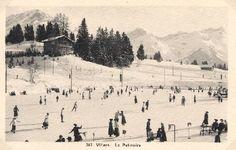 Villars sur Ollon Skiing, Snow, Travel, Outdoor, Hill Country Resort, Antique Post Cards, Switzerland, Tourism, Ski