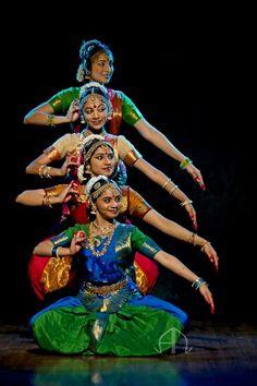 my-spirits-aroma-or: Bharatanatyam group dance by Amith Nag