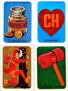 """""""El Chavo"""" y """"El Chapulin Colorado"""" Lotería - La Chicharra"""