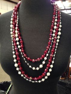 Premier Designs Jewelry. Lady Fair layered with Scarlet Arianethomas.mypremierdesigns.com