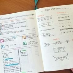 Part 2 of flipping through my bullet journal - Bullet Journal Junkies, Pretty Notes, Bujo, Planer, Pencil Calligraphy, Like4like, Doodles, Organization, Aesthetic Photo