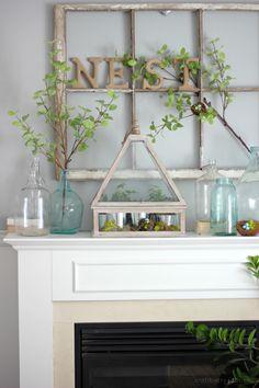 Craftberry Bush | Spring Decor Ideas | http://www.craftberrybush.com