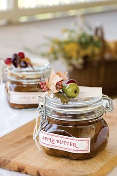 Brown Sugar Apple Butter  Sounds good, but you have to cook this for 8 hours!