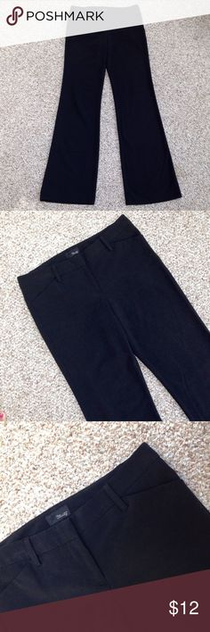 """Star City Black Pants Star City black pants. Size 5 Long. 63% polyester, 33% rayon, 4% spandex. Good condition, gently worn. Measurements: length - 42.5"""", width of waistline - 15.5"""", width of hips - 19"""". Star City Pants Trousers"""
