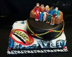 Big Bang Theory Bazinga! By Three Tiers for Cake