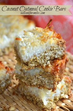 Coconut-oatmeal-cookie-bars