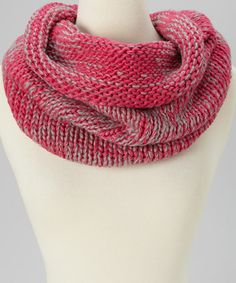 Take a look at this Pink Infinity Scarf by SAKA INC. on #zulily today! $17 !!