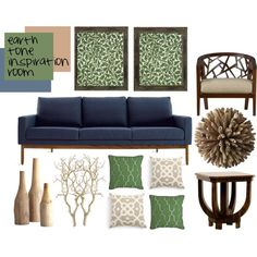 earth tone inspiration room