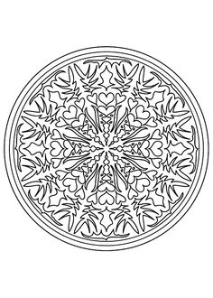 To print this free coloring page «coloriage-mandala-difficile-9», click on the printer icon at the right