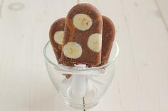 ELVIS PRESLEY POP -  1 banana, sliced  1/4 c. chocolate milk (I use soymilk)  2 chocolate pudding cups (I use ZenSoy)  3 tbsp. natural peanut butter, room temperature