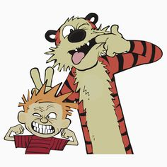calvin and hobbes Watch Cartoons, Calvin And Hobbes, My Children, Tigger, Scooby Doo, Disney Characters, Fictional Characters, Childhood, Comics