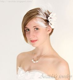 Wedding jewelry Keshi pearl necklace sterling silver  by Arctida, $49.00