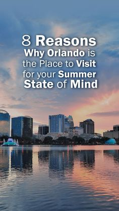 Discover 8 reasons why Orlando is the best place to visit during the summer season, and find out how you can take advantage of Central Florida's endless summer activities even when the summer season ends and most of the tourists head home! Best Vacation Spots, Family Vacation Destinations, Vacation Deals, Best Vacations, Travel Destinations, Travel Deals, Vacation Villas, Orlando Theme Parks, Orlando Resorts