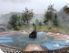 Papallacta - Ecuador -Thermal Spas - amazingly beautiful place.