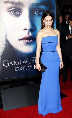 HBO's 'Game Of Thrones' Season 3 - Los Angeles Premiere #emiliaclarke #victoriabeckham