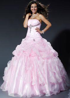 Rosa vestidos de 15 años
