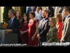 Obama's Staged Fainting Act Exposed- This is such a fantastic video of the phoney-balogny President Obama really is with all his fainting speech listeners, the most recent at the Garden when O talked about Obama care