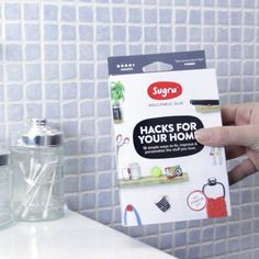 https://sugru.com/  easiest way to hang anything on your walls without using a drill , tools Sugru sticks permanently to lots of stuff like ceramics, glass, metal, wood, and most plastics and fabrics. Just push it onto something, then it's time to build, seal, fix, create and stick things together. You'll have 30 minutes to get the job done. Give it 24 hours, and Sugru turns into a durable, flexible silicone rubber that stays stuck (unless you remove it).