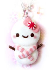 Pink Snowbaby Necklace