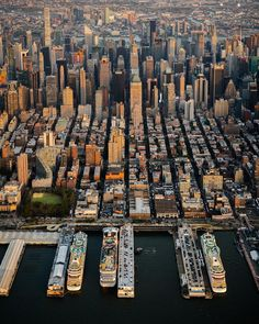 New York City From Above: Aerial Photography by Evan Meyer #art #photography #Aerial Photography