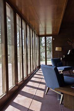 Rosenbaum House. 1940. Addition in 1948.  Usonian Style. Florence, Alabama. Frank Lloyd Wright