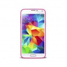 Carcasa Samsung Galaxy S5 Puro Clear Cover Rosa $ 46.500,00