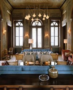 Soho House Chicago Allis Love The Round Tables Could