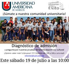¡Juntos hacemos la mejor comunidad universitaria de Morelos!