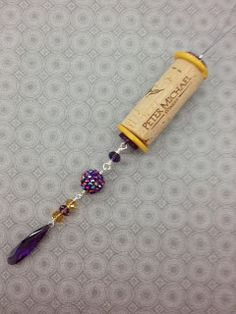 Ideas and Inspirations: Wine Cork Ornament