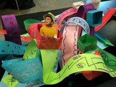 Roller Coaster Paper Sculpture