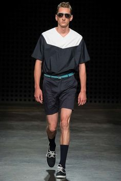 E. Tautz Spring 2016 Menswear Collection - Vogue