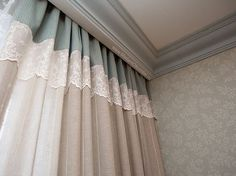 Liking the colors Elegant Curtains, Curtain Decor, Window Decor, Stylish Curtains, Curtains, Home Curtains, Diy Curtains, Curtain Designs, Curtains With Blinds