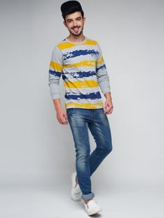 Best Quality Guaranteed   Free Returns   COD Avalilable   Exclusively on MyStore   More details: Amazing Range Of T-Shirts From Difference Of Opinion. Sport This One With Jeans Or Chinos Along With A Pair Of Boots And Flaunt Your Style.