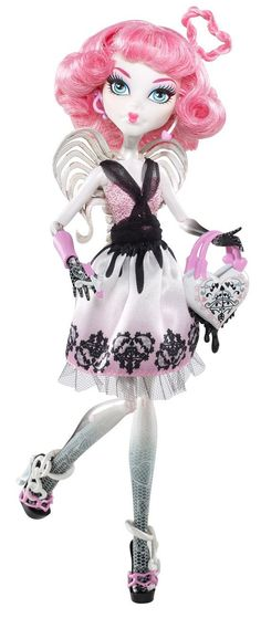 Amazon.com: Monster High Sweet 1600 Action Figure Doll C.A. Cupid: Toys & Games