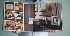 Linen wedding album – Emily & Aaron's flush mount book » Minneapolis Wedding Photographer Becca Dilley Photography