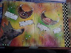 Timeless Rituals #mixed media #art journal #collage