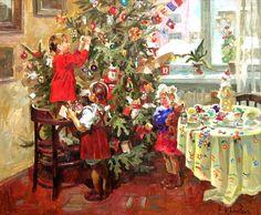 """Armando Tree"" -- by Elena Khmeleva (Russia, b.1966)"