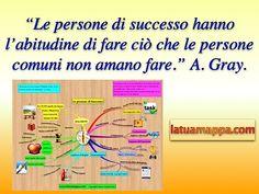 Quali sono le abitudini di chi ha Successo?.. In questa Mappa Mentale elenco 11+1 Abitudini che portano al successo vero, quello possibile che meritiamo tutti quanti. http://www.latuamappa.com/blog/le-persone-di-successo/