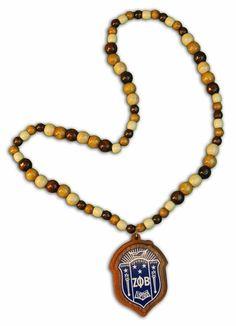 Zeta Phi Beta Tiki Necklace