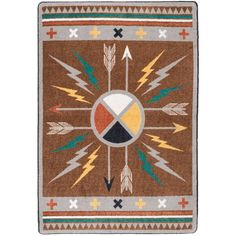 Check out the deal on Medicine Wheel Area Rug Collection at Cabin Place