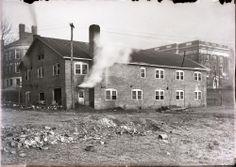 Service Building, University of Virginia Hospital, 1927