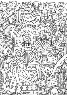 Coloring Anti Stress Adults Patterns