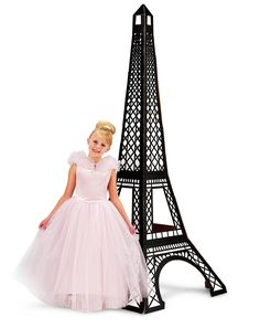 Paris Damask Eiffel Tower Standup from BirthdayExpress.com