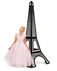 "Paris Damask Eiffel Tower Standup (36""W, 88""H) -Birthday Express.com, $59"