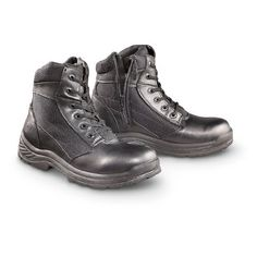 "Men's 6"" The Shield by Rucks Tactical Side - zip Boots Black RUCKS. $39.99"