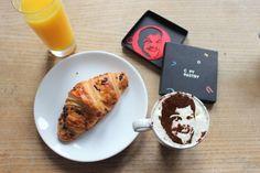 Your PORTRAIT custom coffee stencil